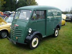 1960ish Austin 101 Van. Commercial Van, Commercial Vehicle, Small Trucks, Old Trucks, Vintage Vans, Vintage Trucks, Green Motorcycle, Day Van, Panel Truck