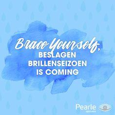 Hello winter #brilglazen Hello Winter, Best Quotes, Van, Pearls, Optician, Eyewear, Best Quotes Ever, Beads, Vans