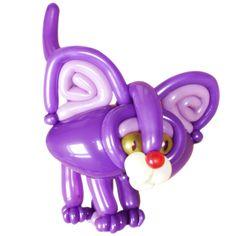 Purple Violet Entries Balloon Cat Patrick van de Ven Apeldoorn, Netherlands