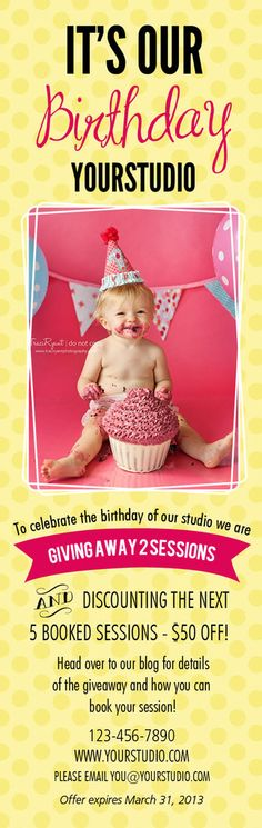 Marketing Tips for Photography (Birthdays)