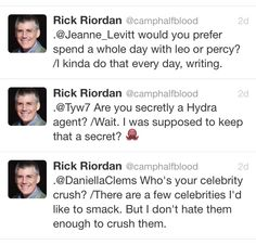 Rick's sass once again. << this man is so great