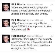 Rick's sass once again. Lol