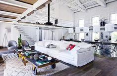 converted factory loft house