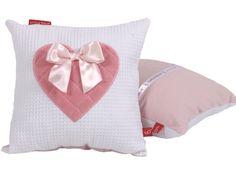 Knuffelkussen Sweetheart pink is verkrijgbaar bij www.leukstebabykamers.nl. Voor 17 uur besteld = volgende dag in huis + gratis bezorging!