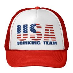 USA Drinking Team Hat