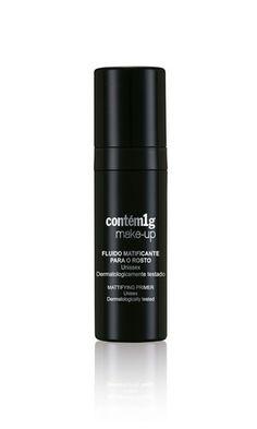 Fluido Matificante para o Rosto | Contém1g make-up