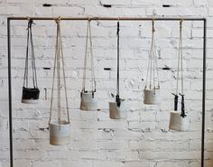 Accessories: Hanging Pots by TW Pottery in Los Angeles : Remodelista