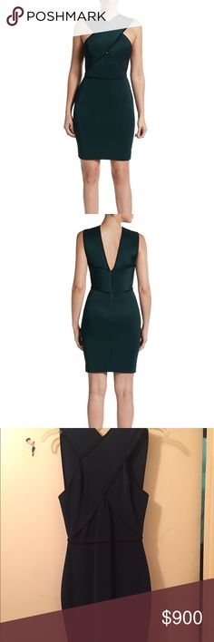 Stella McCartney Green Bondage Dress Never worn size 40 bandage dress by Stella McCartney. Green with black trimmings. Crisscross in the front. From her 2014 collection. Anymore questions just ask. Dm offers Stella McCartney Dresses