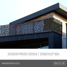 We supply the OUTDECO range of outdoor privacy screens. OUTDECO screens allow you to create beautiful, private spaces in your outside living area. Privacy Screen Outdoor, Garden Screening, Outside Living, Cladding, Range, Architecture, Create, Unique, Outdoor Decor