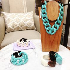 Just in from Florence! Angela Caputi Classic Chain and Click Bracelets