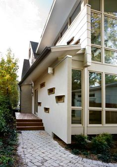 Image result for modern house in traditional neighborhood
