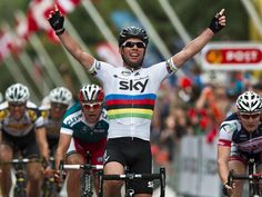 Post Danmark Rundt - Stage 6: Slagelse - Frederiksberg [26/08/2012] Mark Cavendish