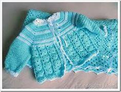 Resultado de imagem para casaquinho de bebe em croche