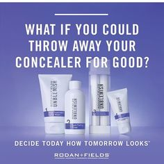 Tired of dealing with acne? You should give Rodan+Fields Unblemish a 60 day try. Your face will thank you. www.jhharrill.myrandf.com