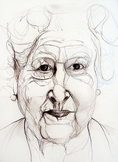H.M. Queen Elizabeth II by Lucian Freud