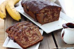 Chocolate marble banana bread #bakedwithlove