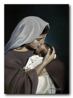 View prints, canvases, etc. of Mother's Love by Liz Lemon Swindle. Madonna Und Kind, Madonna And Child, Pictures Of Christ, Religious Pictures, Blessed Mother Mary, Blessed Virgin Mary, Liz Lemon Swindle, La Salette, Lds Art