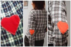 DIY Elbow Patches  DIY: Heart Elbow Patch