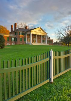 Orange, Virginia - Montpelior, home of President James and Dolley Madison Primitive Country Homes, Primitive Bedroom, Primitive Antiques, Presidential History, Presidential Trivia, Presidential Libraries, Historical Architecture, Architecture Details, James Madison Home