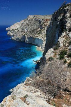 Cliffs of Zakynthos, Greece
