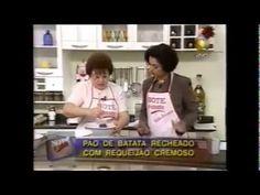 Pão de Batata Recheado com Catupiry - YouTube