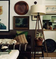 Living room. Domino Magazine