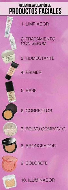 Consigue un #maquillaje #profesional siguiendo estos pasos que ayudarán a que tu rostro luzca como el de las celebridades. #TipsDeMaquillaje #MaquillajeProfesional #ComoAplicarProductosFaciales #Belleza #TipsDeBelleza