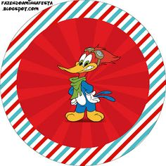 Woody Woodpecker - Full Kit with frames for invitations, labels for goodies, souvenirs and pictures! | Making Our Party