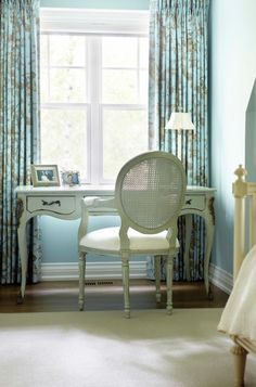 Bedroom Design Traditional Bedroom Design With Conventional Window Bed Also Light Blue Sky Wall