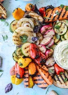 Or, How To Eat Vegetables and Actually Enjoy Them. Because I did! And I want to do it more. All it takes is a grill with some smoky flavor and a marinade with lots of flavor. Where have I BEEN? Maybe