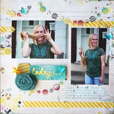 #papercraft #scrapbook #layout Scrapbooking Inspiration: March 18, 2013 - Club CK Blog - Club CK - The Online Community and Scrapbook Club from Creating Keepsakes