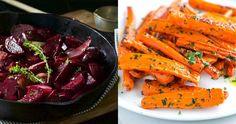 6 tipp zöldségkörethez: sárgarépa, édesburgonya, cékla, zeller, paszternák Okra, Carrots, Vegetables, Food, Tips, Gumbo, Essen, Carrot, Vegetable Recipes