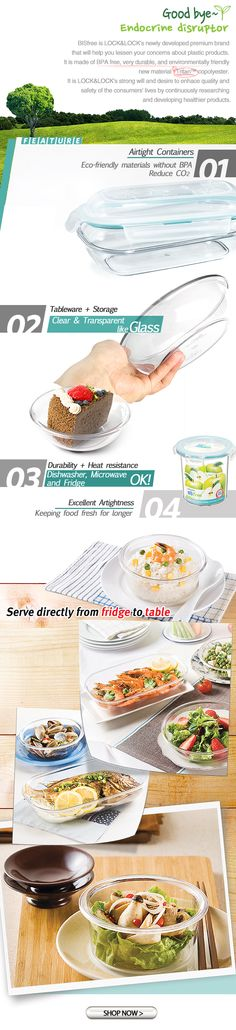 Bisfree Food Containers from Lock & Lock (2/2)
