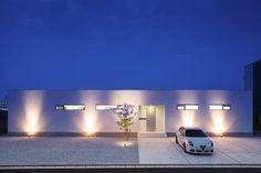 Ridge line house · Floor layout (Tagawa-shi, Fukuoka) Japanese Architecture, Amazing Architecture, Modern Architecture, Building Design, Building A House, Modern Landscaping, Floor Layout, Architect Design, Minimalist Home