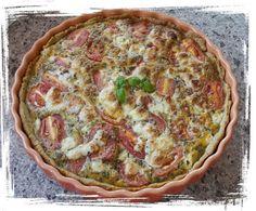 Tomaten- Mozzarella- Tarte
