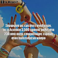 Ειρήνη 230, Did You Know, Blog, Blogging