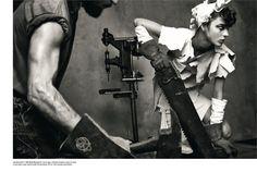 The Heart of the Machine (Vogue Italia)
