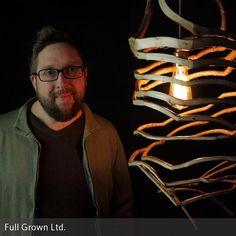"""Eco-Living vom Feinsten: **Gavin Munro** und das Team von **Full Grown** bieten """"selbst wachsende"""" Möbel an. Auf den Feldern des Unternehmens in der  …"""