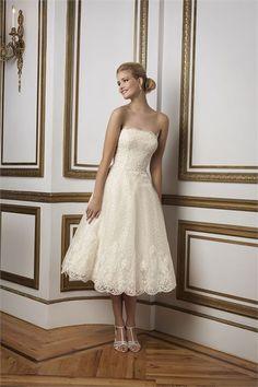 6b5f514a2fa Justin Alexander Strapless Lace Wedding Dress