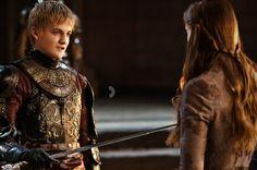 King Joffrey Baratheon and Aria Stark - Game of Thrones