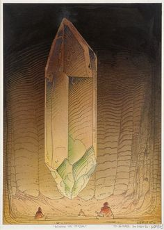 Building the Crystal / Moebius / 1986