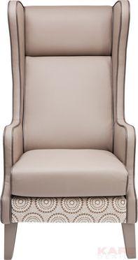 Fauteuil Bicolore Ornament Wing is een zacht gekleurde stoel met sierlijke print uit de Kare Design collectie en is nu verkrijgbaar bij Furnies.nl voor €398,- !