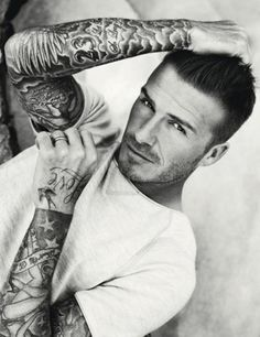 David Beckhams Stylish Tattoo Designs <<< yeah THAT'S why I'm pinning it...