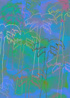 Tropical 2 Art Print by Georgiana Paraschiv