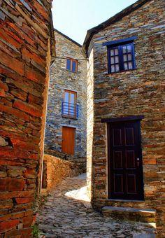 Stone houses at the Country :Portugal Village: Piódão Photo: VisitPortugal Braga Portugal, Visit Portugal, Portugal Travel, Algarve, The Beautiful Country, Beautiful Places, Places To Travel, Places To Visit, Travel Destinations