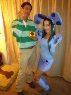 Blues Clues - couples costume