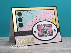 The best things in life are Pink.: Love From Lizi - May 2019 card kit - 18 cards 1 kit Pen Sketch, Card Sketches, Card Kit, I Card, Camera Cards, Pinstriping Designs, Fish Tales, Craft Stash, Wink Of Stella