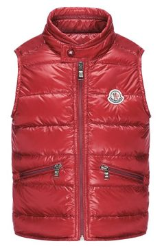 8fe9201c5f4 Moncler  Gui  Water Resistant Quilted Down Vest (Toddler Boys  amp  Little  Boys