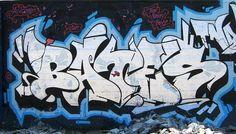 Bates - graffiti