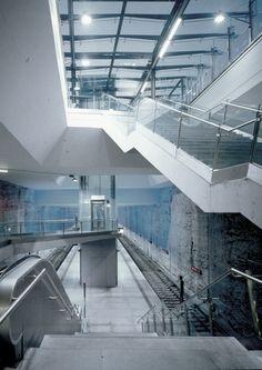 Projects » U-Bahnstation Westfriedhof München